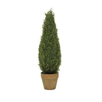 ต้นไม้ประดิษฐ์#ST14-T032 พลาสติก สีเขียว/JST