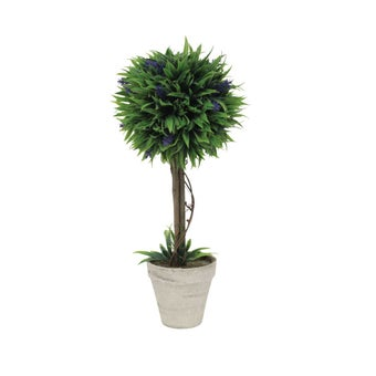 ต้นไม้ประดิษฐ์#ST17-T282 พลาสติก สีเขียว/JST