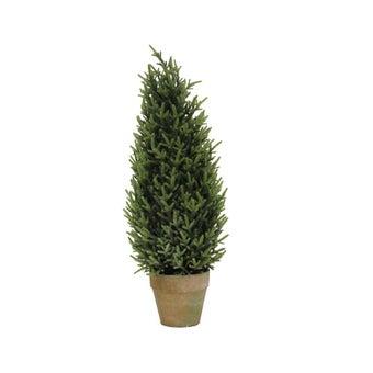 ต้นไม้ประดิษฐ์#ST17-T417G พลาสติก สีเขียว/JST