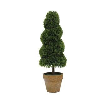 ต้นไม้ประดิษฐ์#ST14-T291 พลาสติก สีเขียว/JST