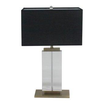 โคมไฟ โคมไฟตั้งโต๊ะ รุ่น Modern สีสีดำ-SB Design Square