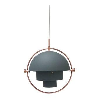โคมไฟ โคมไฟแขวน รุ่น Modern สีสีเทา-SB Design Square