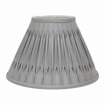 โคมไฟ โป๊ะโคมไฟ รุ่น Luxury สีสีเทา-SB Design Square