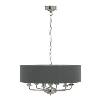 โคมไฟ โคมไฟแขวน รุ่น Luxury สีสีเทา-SB Design Square
