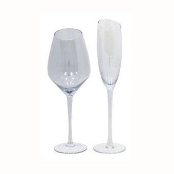 แก้ว#XKSL แก้ว สีฟ้าใส/YLC Set of 2-00