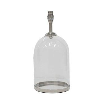 ฐานโคมไฟตั้งโต๊ะ#3621304 แก้ว สีเงิน-00