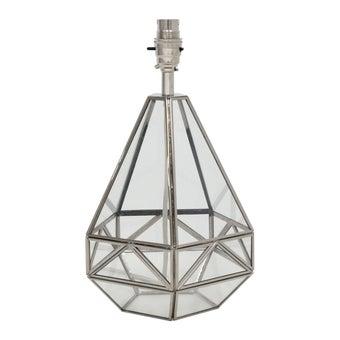 โคมไฟ โคมไฟตั้งโต๊ะ รุ่น Vintage สีสีเงิน-SB Design Square