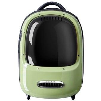 กระเป๋าสัตว์เลี้ยง Xiaomi Petkit รุ่น PKEB1015WG/ขาว/FLK สีเขียว1