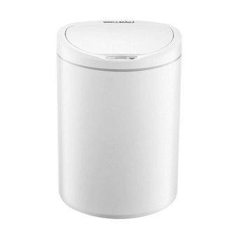 ถังขยะอัจฉริยะ Xiaomi Ninestars 10L DZT-10-29S/FLK สีขาว1