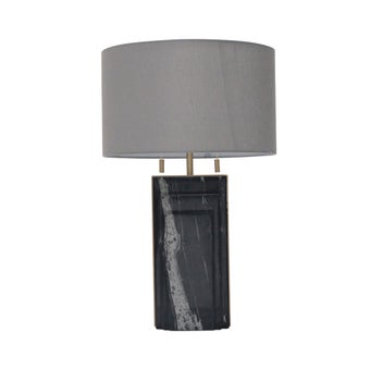 PHโคมไฟตั้งโต๊ะ#JHTL516081W/หิน/ดำนต./JH สีดำ1