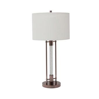 SCHโคมไฟตั้งโต๊ะ#JHTL980461/โลหะบรอนซ์JH สีเทา1