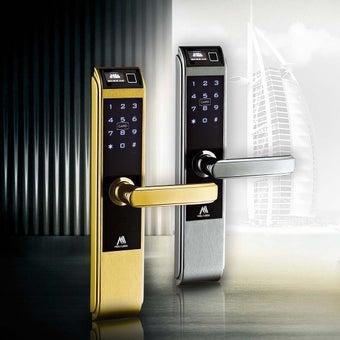 กลอนประตูดิจิตอล Digital Door Lock รุ่น Molilock 157c138finger-03