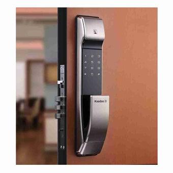 กลอนประตูดิจิตอล Digital Door Lock รุ่น Kaadas K-7 แบบชุดล็อค 3 เดือย