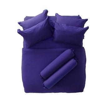 ชุดผ้าปู ผ้าปูพร้อมผ้านวม Bedding สีชมพู Lotus : SB Design Square