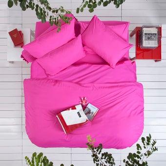 Lotus ชุดผ้าปู 5ฟุต 5ชิ้น พร้อมผ้าห่มนวม รุ่น Impression Solid : LI-SD 05