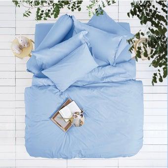 Lotus ชุดผ้าปู 5ฟุต 5ชิ้น พร้อมผ้าห่มนวม รุ่น Impression Solid : LI-SD 07