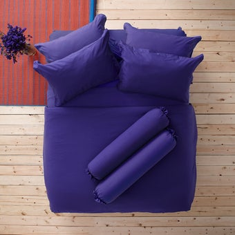Lotus ชุดผ้าปู 5ฟุต 5ชิ้น พร้อมผ้าห่มนวม รุ่น Impression Solid : LI-SD 18