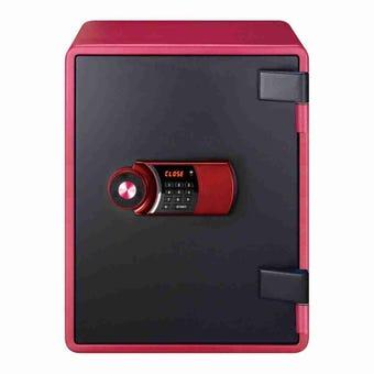 อุปกรณ์รักษาความปลอดภัยภายในบ้าน ตู้เซฟ สีสีแดง-SB Design Square