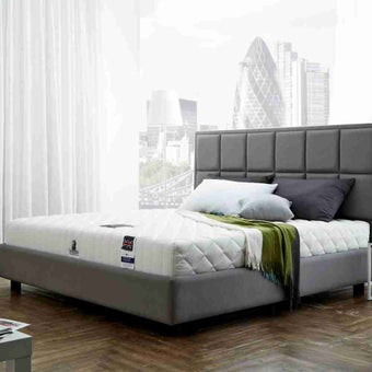 ที่นอน ฟูก ที่นอนพ็อคเกตสปริง สีขาว Dunlopillo : SB Design Square