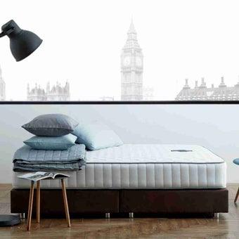 ที่นอนสปริง ที่นอน ฟูก สีขาว Dunlopillo : SB Design Squanre