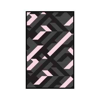 เสื่อ PDM BRAND AVALON (Black-White-Pink) Size S-01