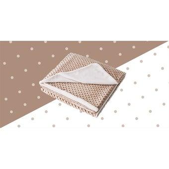 ผ้าห่ม Lotus ECO-FUR BLANKET สีครีม (ผ้าห่มขนสัตว์เทียม) ขนาด 60 * 80 นิ้ว -00