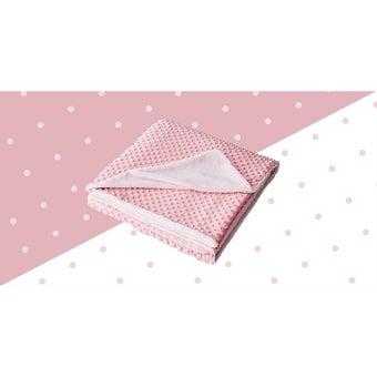 ผ้าห่ม Lotus ECO-FUR BLANKET สีชมพู (ผ้าห่มขนสัตว์เทียม) ขนาด 60 * 80 นิ้ว -00