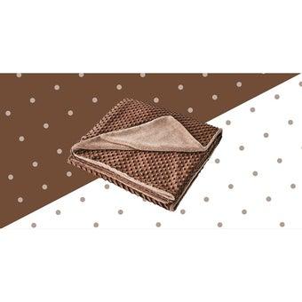 ผ้าห่ม Lotus ECO-FUR BLANKET สีน้ำตาล (ผ้าห่มขนสัตว์เทียม) ขนาด 60 * 80 นิ้ว -00