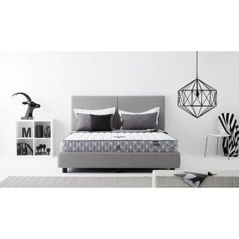 ฟูก ที่นอน ที่นอนสปริง สีขาวลาย Dunlopillo : SB Desing Square