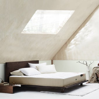 ที่นอน Omazz รุ่น Organique 3.5 ฟุต แถมฟรี ชุดเครื่องนอน 5 ชิ้น