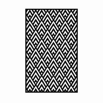 เสื่อ PDM BRAND KAIKU (Black-White) Size L-01