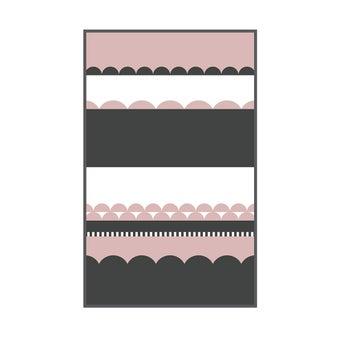 เสื่อ PDM BRAND LAKU (Rosegold) Size M-01