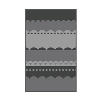 เสื่อ PDM BRAND LAKU (Grey-Charcoal) Size M