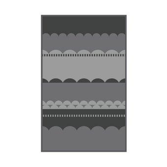 เสื่อ PDM BRAND LAKU (Grey-Charcoal) Size M-01