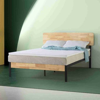ที่นอน แผ่นรองที่นอน สีสีขาว-SB Design Square