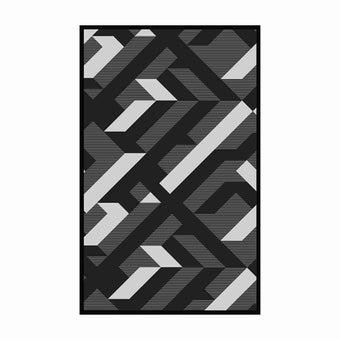 เสื่อ PDM BRAND AVALON (Black-White) Size M-01