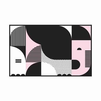 เสื่อ PDM BRAND ERAWAN (Black-Pink) Size M