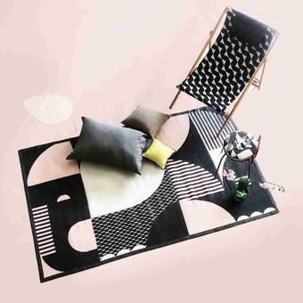 เสื่อ PDM BRAND ERAWAN (Black-Pink) Size M-03