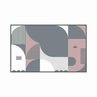 เสื่อ PDM BRAND ERAWAN (Grey-Rosegold) Size M