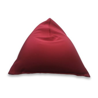 หมอนอิงและสตูล สตูล โซฟา สีสีแดง-SB Design Square