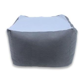 หมอนอิงและสตูล สตูล โซฟา สีสีฟ้า-SB Design Square