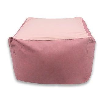 หมอนอิงและสตูล สตูล โซฟา สีสีชมพู-SB Design Square
