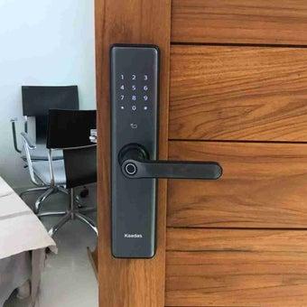 Digital Door Lock Kaadas S-7 Black Matted สีดำด้าน-04