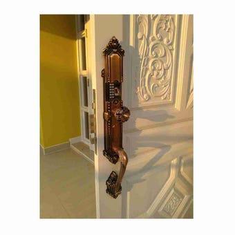 กลอนประตูดิจิตอล Digital Door Lock รุ่น Molilock 32ct22 Copper