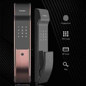 กลอนประตูดิจิตอล Digital Door Lock  รุ่น Kaadas K-9 Gold-00