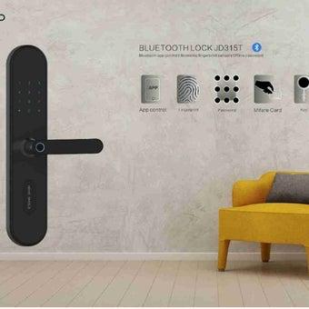 Digital Door Lock  Home Shield JD315T Black Bluetooth + Application ตั้งรหัสจากที่ไหนก็ได้-00