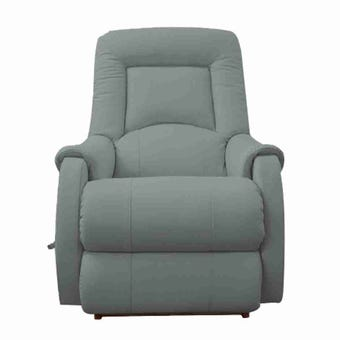 เก้าอี้ปรับเอนนอน La-Z-Boy 10T-741-EM-714834 Serenity หนังแท้ครึ่งตัว, สี Stone