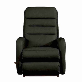 เก้าอี้ปรับเอนนอน La-Z-Boy 10T-744-EM-714850 Forum หนังแท้ครึ่งตัว สี Black