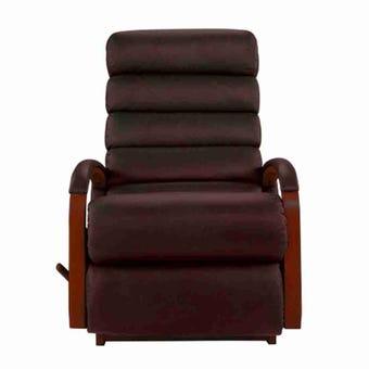 เก้าอี้ปรับเอนนอน La-Z-Boy 10T-520-EM-714889 Norman หนังแท้ครึ่งตัว สี Claret