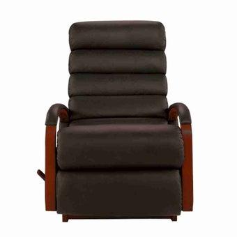 เก้าอี้ปรับเอนนอน La-Z-Boy 10T-520-EM-714877 Norman หนังแท้ครึ่งตัว สี Mocca